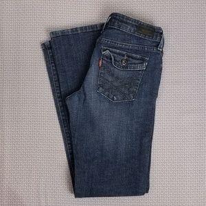 Levis 545 Jeans Sz 4 Low Rise Boot Cut Denim Dark